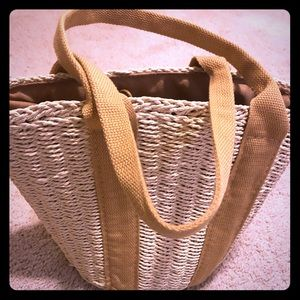 NWT Street Level Straw Tote